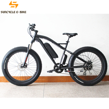 Suncycle green power fat tire ebike adults off road e cruiser bikes made in china