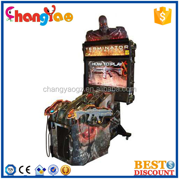 Gun Shooting Arcade Video Game Machine