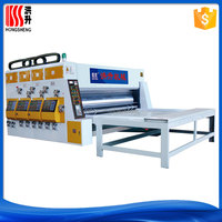 corrugated box printer slotter machine