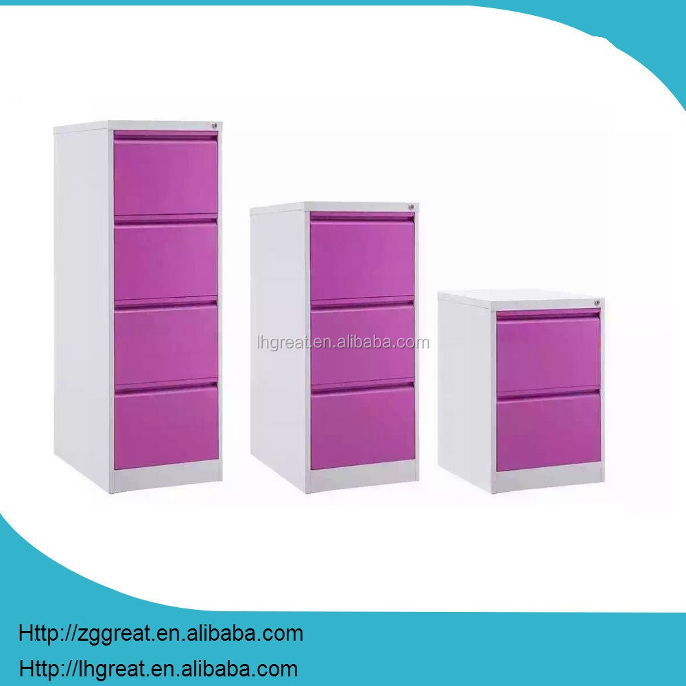 office furniture otobi furniture in bangladesh price steel filing cabinet storage cabinet / purple flat file cabinet