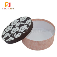 Wholesale Custom Printed Logo Luxury Cardboard Gift Packaging Paper Round Hat Box for Flowers