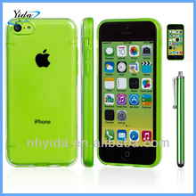 Green Crystal Hard Plastic Case for iPhone 5C