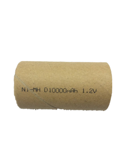 1.2V NiMH battery D size 10000mAh Cylindrical pack for electric car