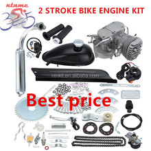 2 stroke 80cc bicycle gasoline engine / motorised bike engine kits