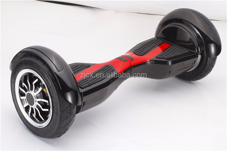 2015 NEW design 10 Inch two wheels electric balance scooter with LED light