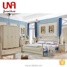 Una furniture korean simple style children bedroom furniture set made in China