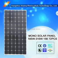 high quality mono solar panel 310w for solar system
