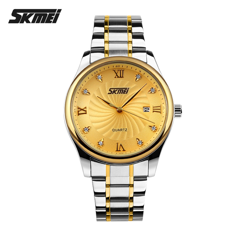 SKMEI 3 atm water resistant stainless steel watches #9101