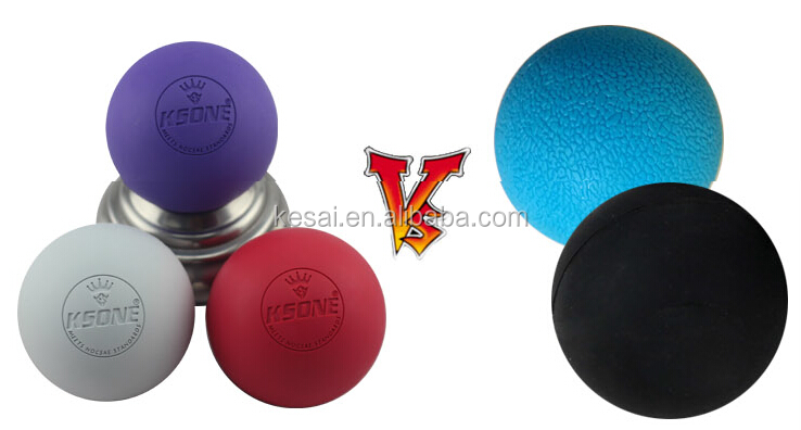 NOCSAE approved lacrosse ball 2017 customized lacrosse massage rubber ball