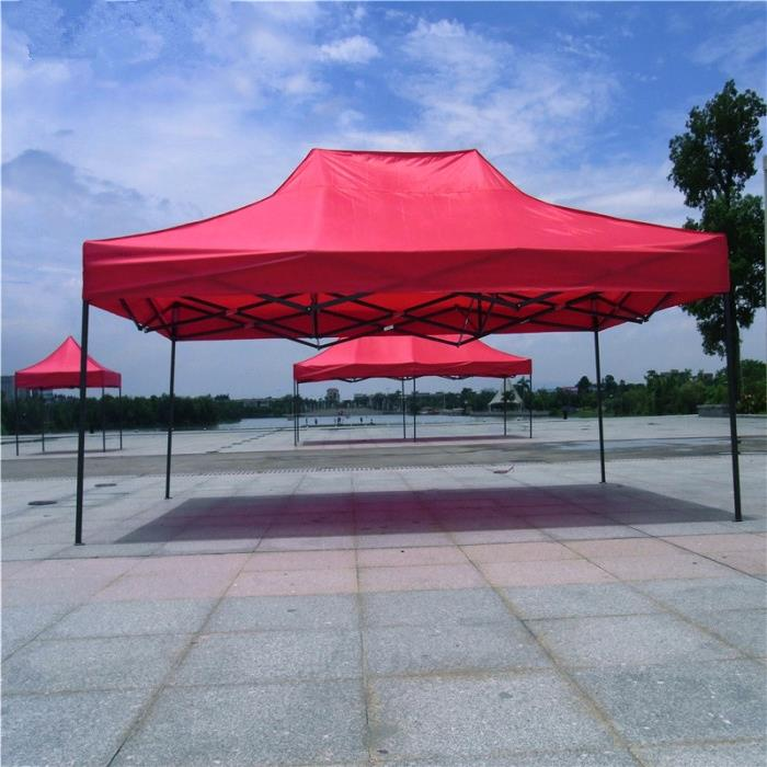 Factory hex iron frame quick folding exhibition tent gazebo tent 3x4.5m