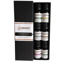 Essential Oil Variety Set- 6 Pack - 100% Pure Therapeutic Grade 10 ml. - (Bergamot, Clary Sage, Cinnamon Bark,-826102