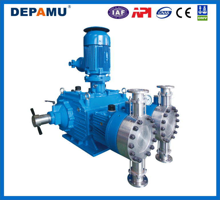 Hydraulical Diaphragm Metering & double head metering pump