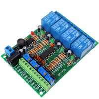 DC12V Voltage comparator Module Relay Control Switch 4-channel Relay Controller for Car circuit modification