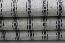 55L 45R linen viscose stripe yarn dyed fabric in wholesale
