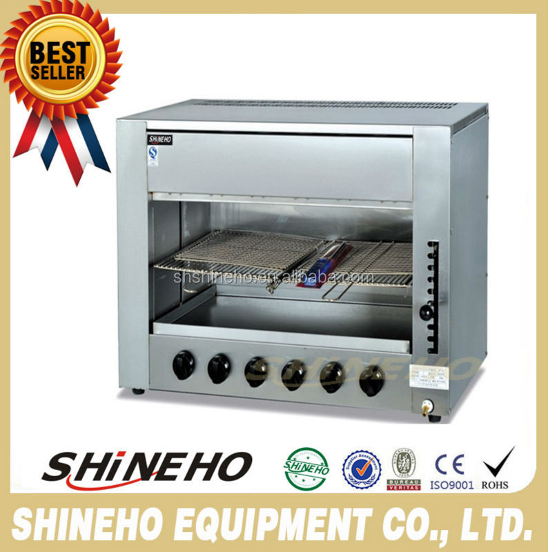 Kitchen Gas Salamander Cooking Equipment