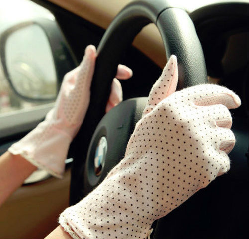 Fashion Summer Driving Sun Protective Gloves For Ladies