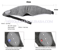 High quality bluetooth 3d soft sleeping eyeshade mask in stock