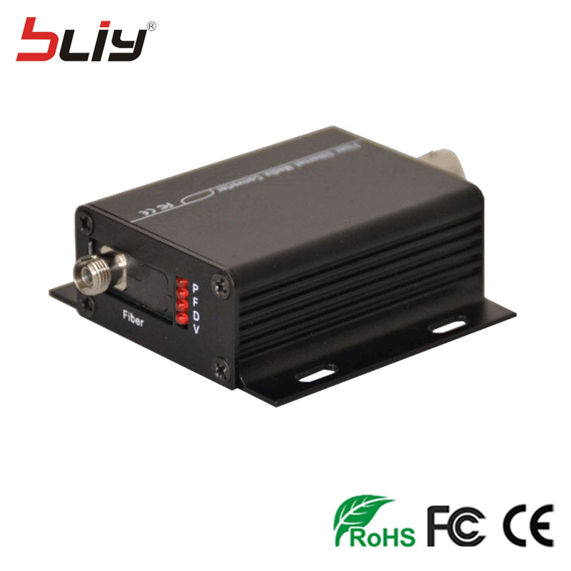 1 Pair 2 PCS/lot 1V1D mini Fiber Optic Video Optical Transmitter & Receiver 1CH +RS485 Data 1 Channel Video Optical Converter