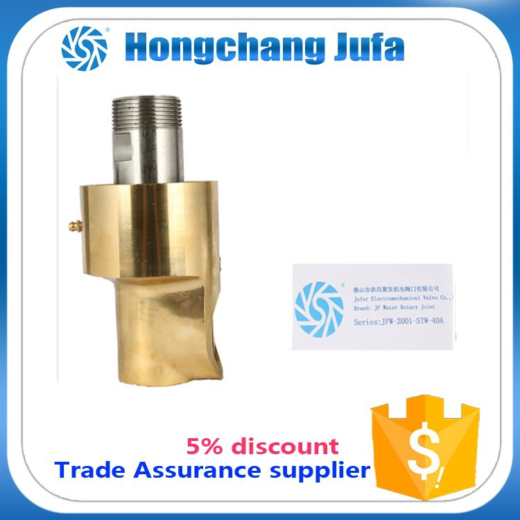 Male felmale npt bsp threads copper plumbing fittings rotating union swivel joint