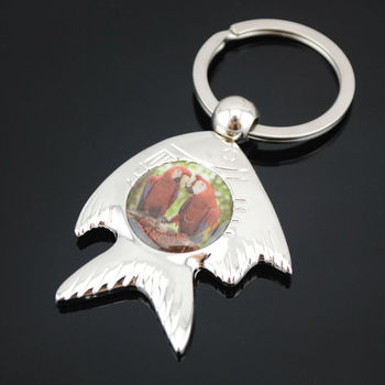 2013 new design Mexico souvenir fish keychain