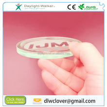 Coaster Type plastic promotional gift custom acrylic coaster