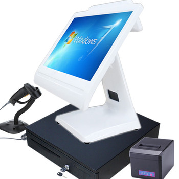 "LKS-POS950 NEW 15.6"" touch screen epos terminal all in one pos"