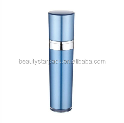 Empty Container Cosmetic Plastic acrylic cone shaped bottles