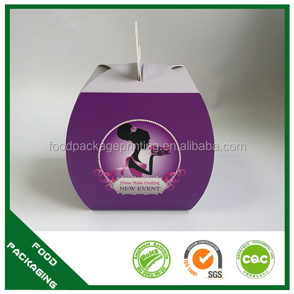 OEM manufacture cookie sweet ice cream cheese cake box