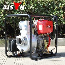 BISON CHINA TaiZhou Air Cooled Direct Injection 4Inch 10HP Diesel Water Pump
