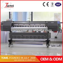 digital indoor and outdoor printing machine,3.2m trapaulin Banner printer machine CMYK price