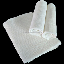 Factory Manufacture Disposable Nonwoven Salon Towel OEM High Quality viscose Hair Cloth Linte Free Cotton Bathroom Towel