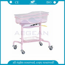 AG-CB009 Hospital bassinet medical infant Baby adjustable bed