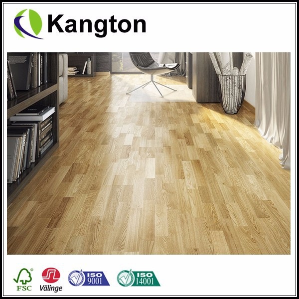 Rustic 3 Ply Clicking System Engineered European Oak Flooring 3 Strip Lacquer