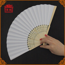 Hot selling wedding program Chinese bamboo paper fans GYS914-1