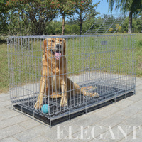 High Quality Thickening Stainless Steel Cheap Dog Cages Many Size for Sales