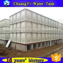 Customized Assembled Type GRP Water Tank/SMC Modular Panel Water Tank/Specification For GRP Water Tanks
