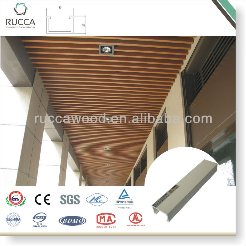 2018 Hot Sale exterior decorative ceiling 40*25mm waterproof for balcony China building materials supplier