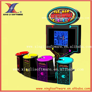 54' LCD monitor PAC-MAN battle royale