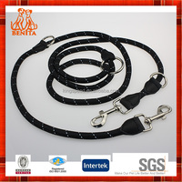 2015 premium dual double dog leash for two dogs