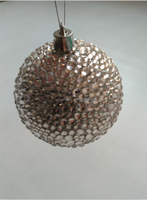 2015 Christmas decoration 100% handmade diamond christmas ball