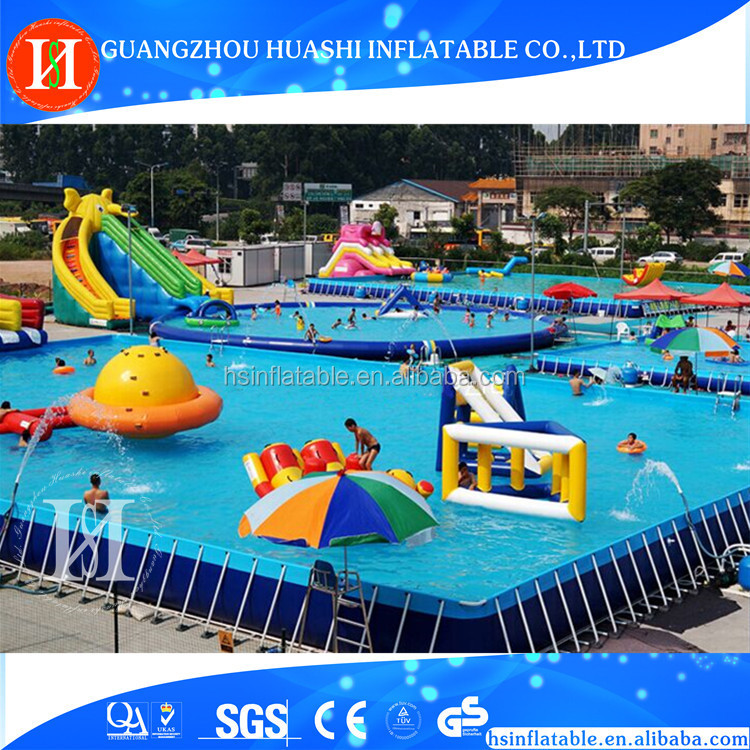 2017 attractive splash water slide china , inflatable water slide inground pool