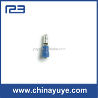 Snap Plugs Male Nylon Insulated Butted Seam Blue/Pre isulated terminals bullet shaped male type