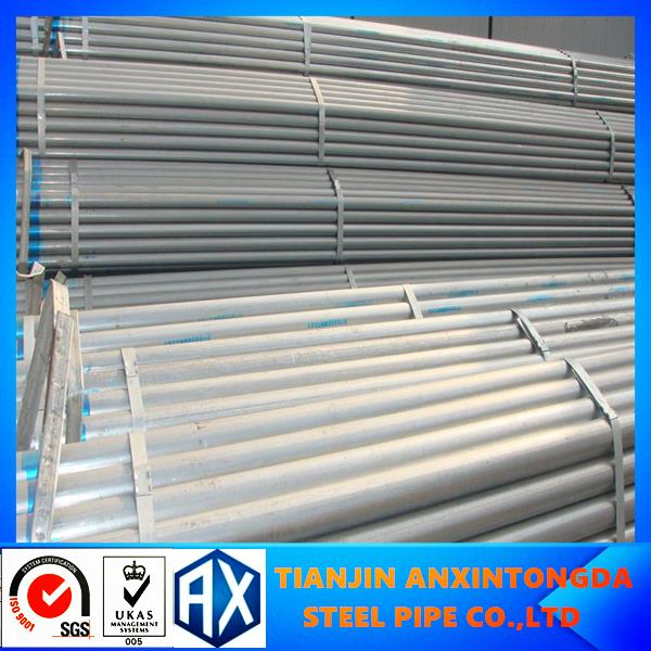 hdg shs steel guiding tubes!dn15~150 hot-dip galvanized steel pipe