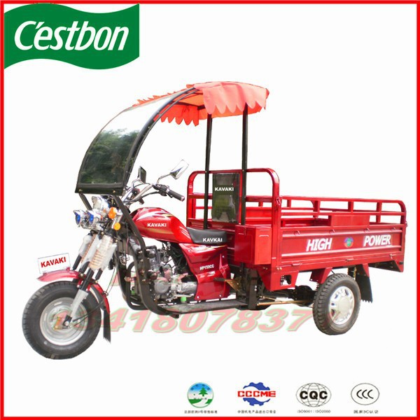 China NO.1 KAVAKI motor 150cc cargo tricycle