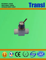 battery operated power supply solenoid valve
