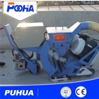 Asphalt Pavement Mobile Shot Blast Cleaning Machine/ Equipment for Removing Road Sign