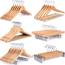 Amazon hot selling quality cheap wholesale wooden hangers, wooden clothes hanger,wood hanger