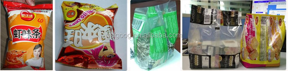 Gelgoog Brand Commercial Price Pouch Snack Potato Chips Packing Machine