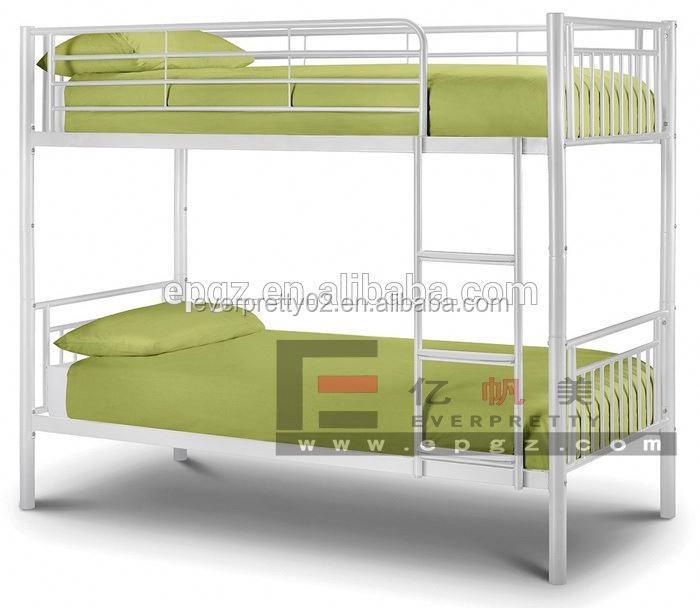 Metal detachable bunk bed for home,iron steel home metal bed bedroom furniture