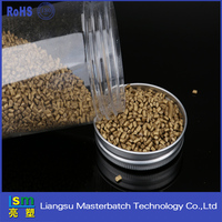 pp plastic abs pvc resin golden masterbatch for stretch film food grade ,agriculturalgrade